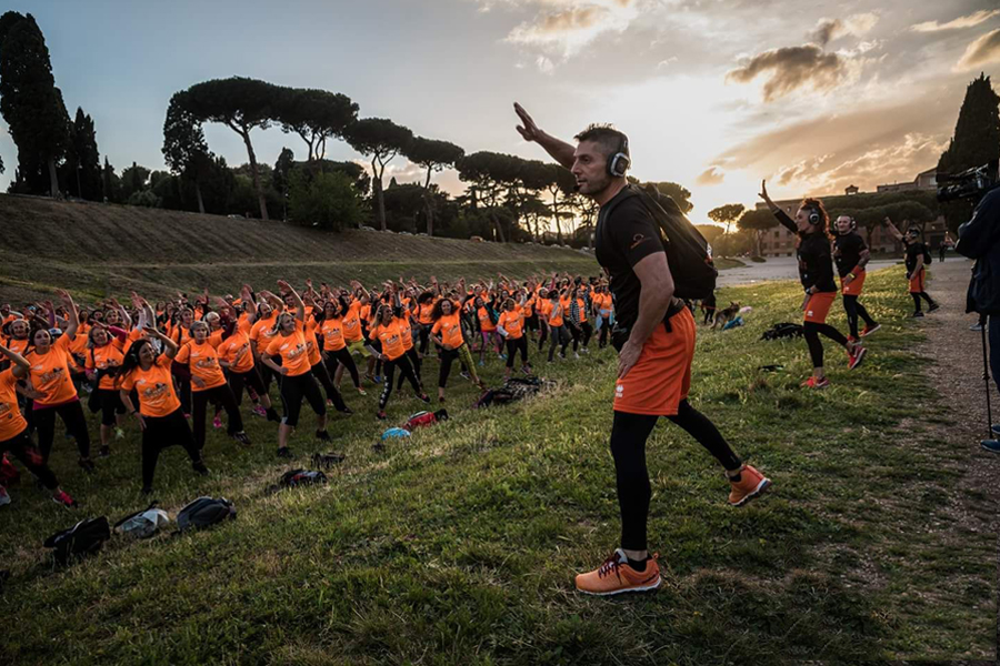 Evento Street Workout Roma Eur