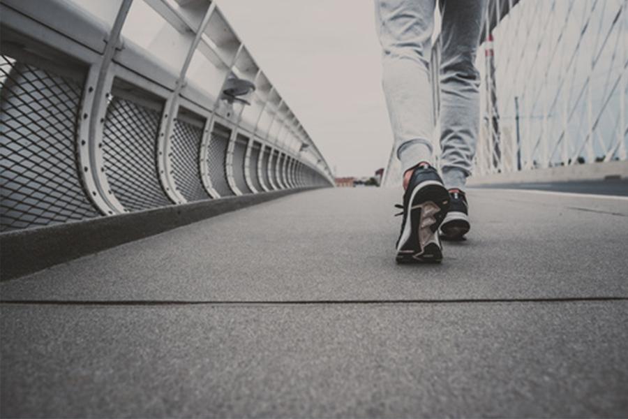 passeggiata all'aperto