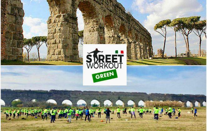 street workout green parco degli acquedotti