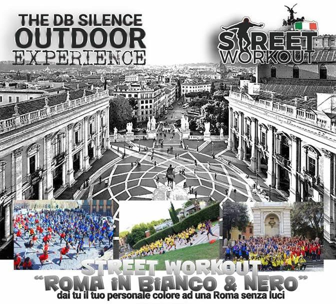 "Street Workout ""Roma In Bianco E Nero"""