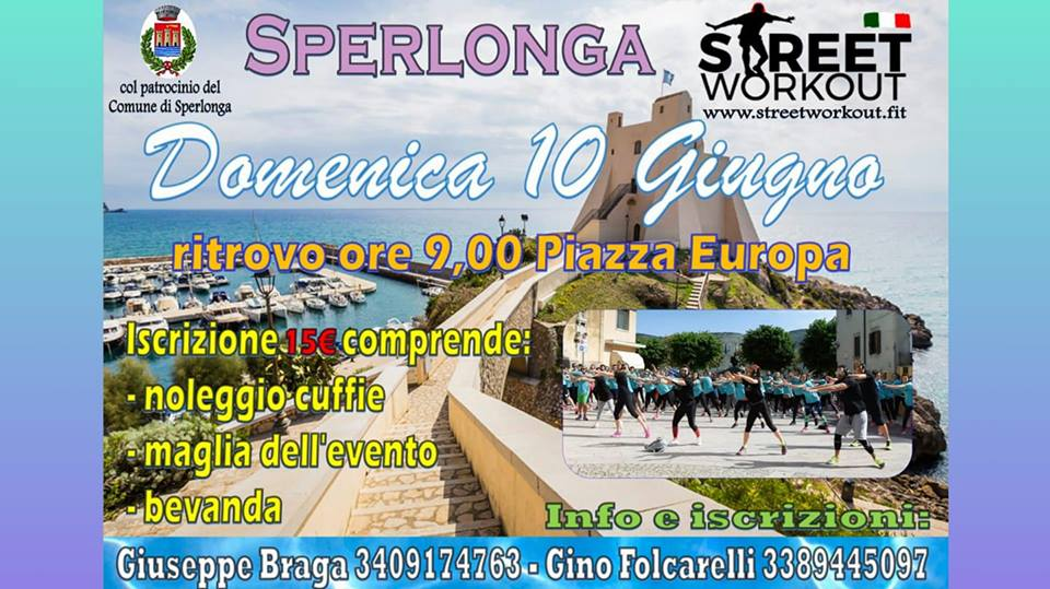 Street Workout Sperlonga