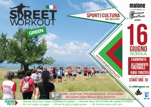Streetworkout GREEN by MaioneStore Norma
