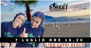 Street Workout e RhyWalk Al Tramonto al MARE