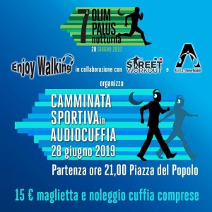 Street Workout Camminata sportiva