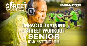 Street Workout e Impacto Training Senior