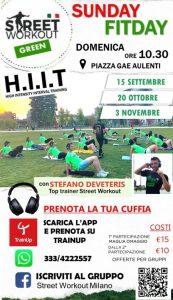 Street Workout Green Milano