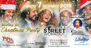 Street Workout Cristmas Party