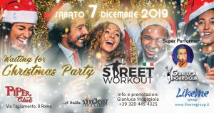 Street Workout Party Waiting for Cristmas