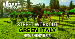 Street Workout Green Italy Roma