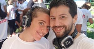 Fabiana Germani e Mirko Baghino