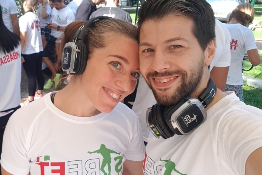 Fabiana Germani e Mirko Baghino