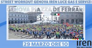 Street Workout Genova Iren Luce Gas e Servizi