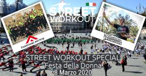 Street Workout roma festa della donna