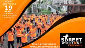Street Workout in Trekkmill Program