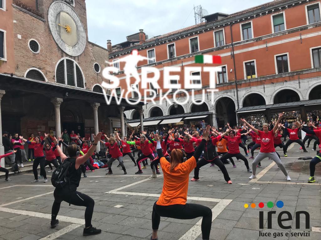 Street Workout Venezia Iren Luce Gas e Servizi