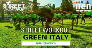 Street Workout GreenDay Roma - SMS Iren Luce Gas e Servizi