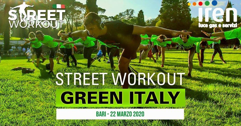 Street Workout GreenDay Bari Iren Luce Gas e Servizi