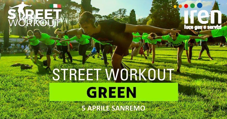 Street Workout Green Sanremo Iren Luce e Gas