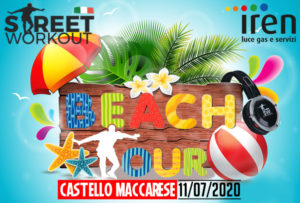 Street Workout BEACH TOUR Maccarese