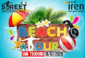 street workout beach san teodoro