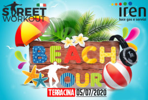 Street Workout BEACH TOUR Terracina
